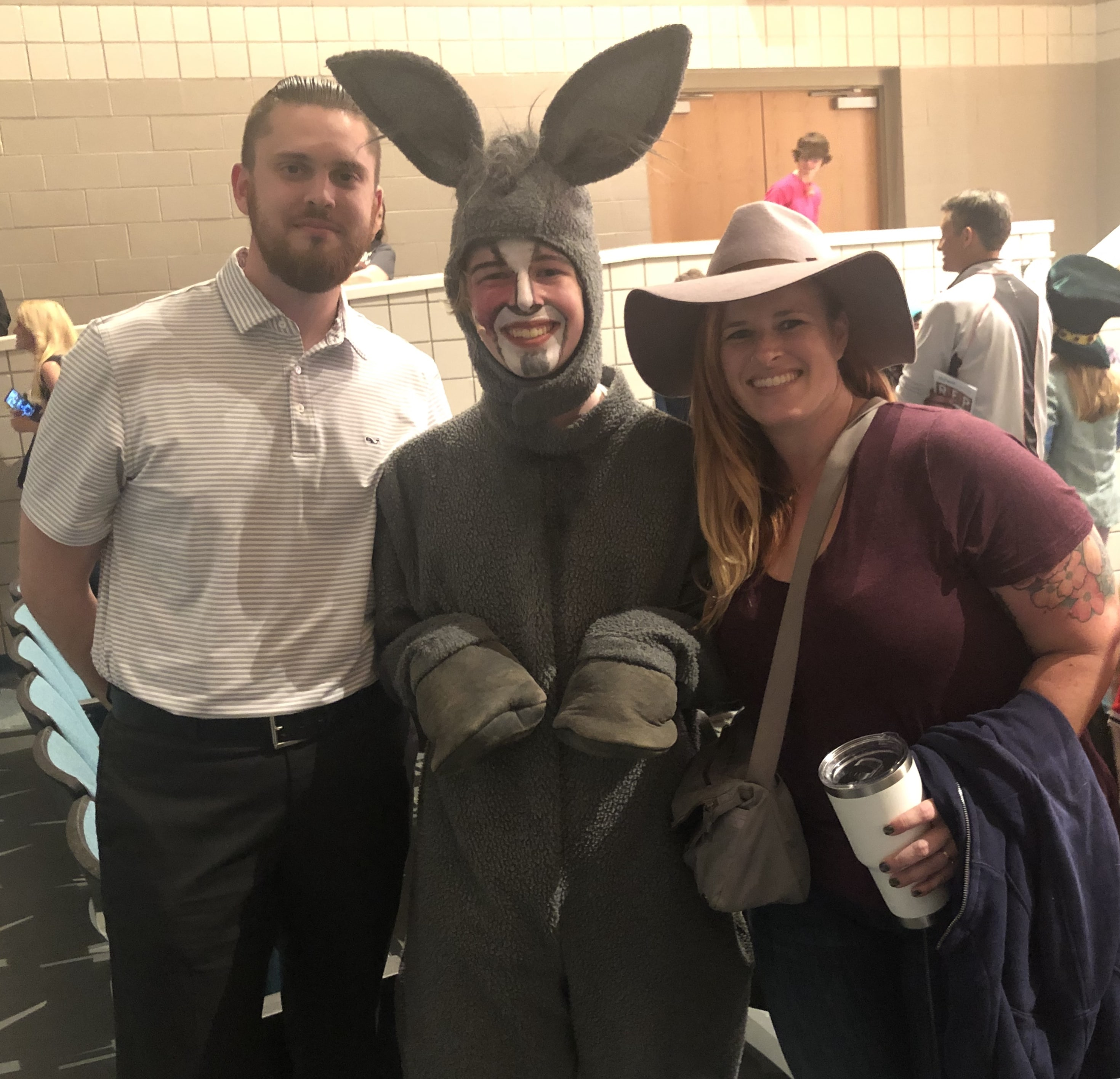 Shrek the musical high school performance donkey